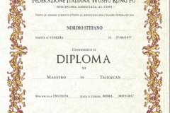 Diploma FIWuK di Maestro di Stefano Nordio