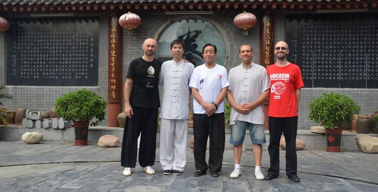 La Zhu Tiancai Taijiquan con Xianghua a Chenjiagou