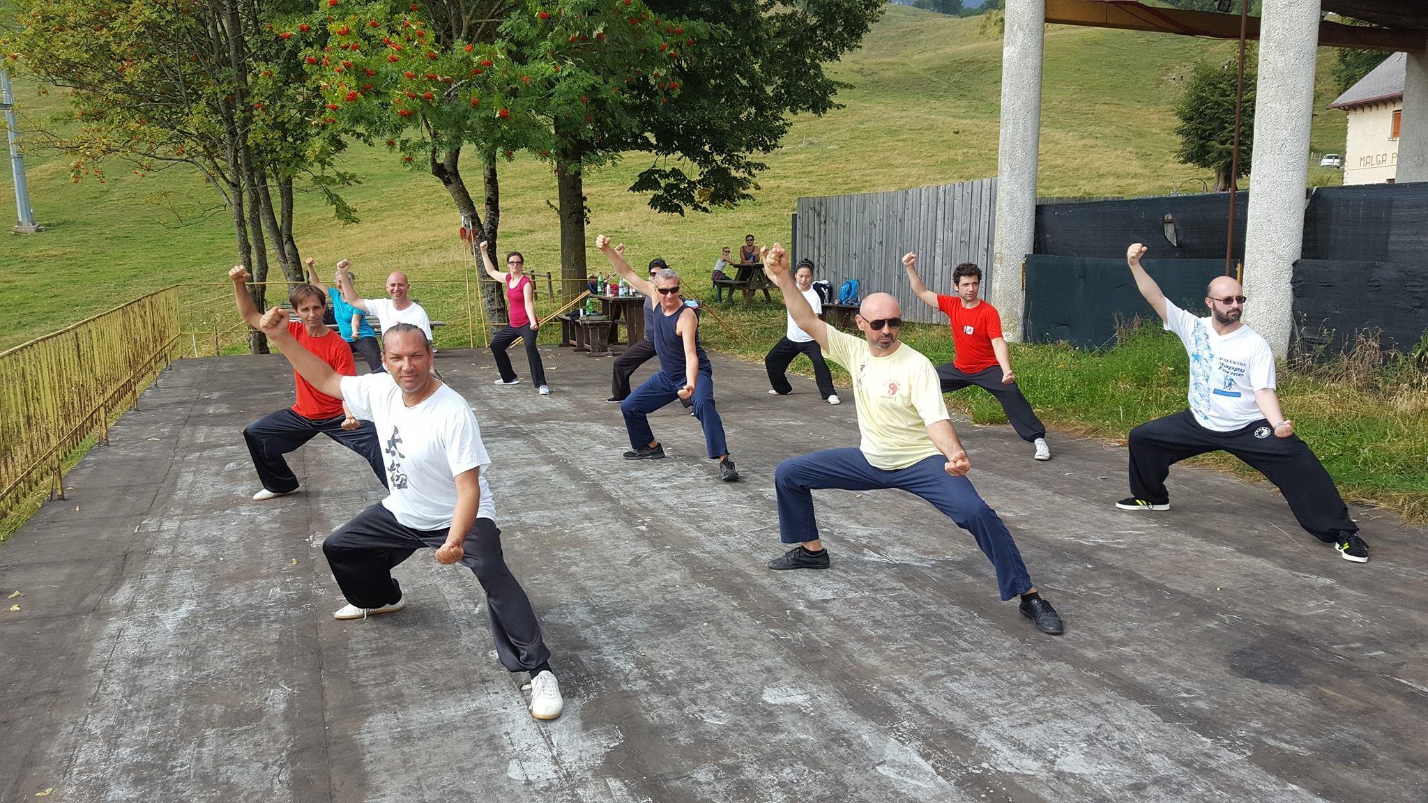 corso di taiji a Recoaro